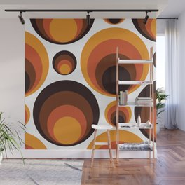 Back To The 70's Wall Mural