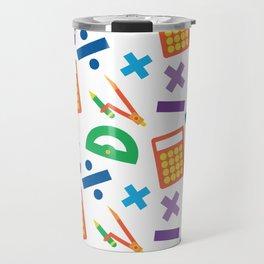 Mathematician Travel Mug