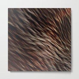 [24-07-16] - Fur Metal Print
