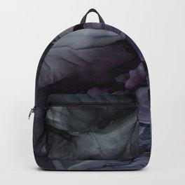 Moody Dark Chaos Inks Abstract Backpack