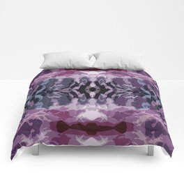 colorful vibrations Comforters