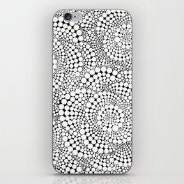 Flower-op-art iPhone Skin