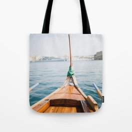 Boat from Valletta Tote Bag