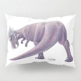 Purple Pachycephalosaurus Pillow Sham