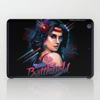 battlefield iPad Cases featuring Love is a Battlefield by Rocky Davies