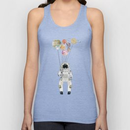 solar collector Unisex Tank Top