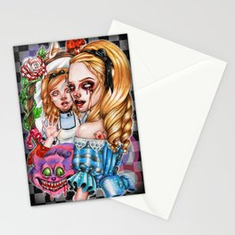The Madness of Alice Stationery Cards