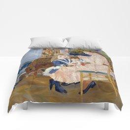 """Auguste Renoir """"L'après-midi des enfants à Wargemont (The childrens' afternoon at W.) Comforters"""