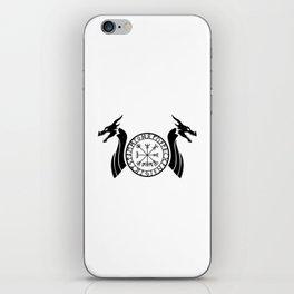 Norse Dragon - Vegvisir iPhone Skin
