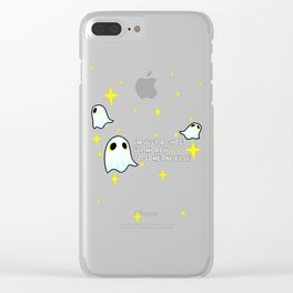 TOP morph Clear iPhone Case