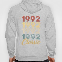 28 th Birthday Gift for Men And Women Born in 1992 Classic 28 th Birthday Party Hoody
