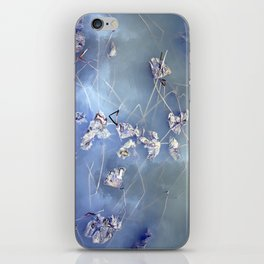 winter lotus iPhone Skin