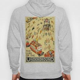 Vintage poster - London Underground Hoody