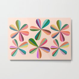 Abstraction_Blossom_Colorful_Day_Minimalism_001 Metal Print