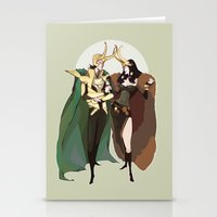 loki Stationery Cards featuring loki by imponderabilia