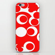 red circles iPhone & iPod Skin