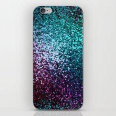 Colorful Mosaic Reflection iPhone & iPod Skin