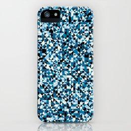 Black & Blue iPhone Case