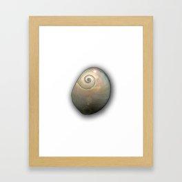 Moon Shell Cosmos Framed Art Print