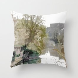Brügge - Belgium Throw Pillow