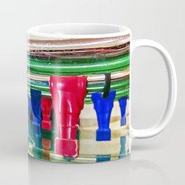 Figures of a foosball table Coffee Mug