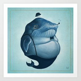 Whalesly Art Print