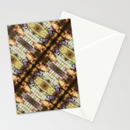 Frenchie and Pitbull pattern Stationery Cards
