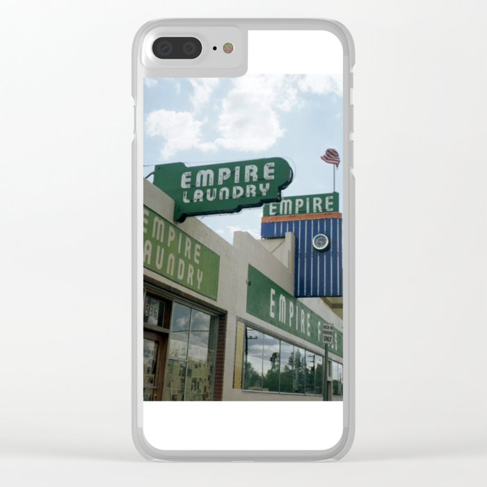 Empire Clear iPhone Case