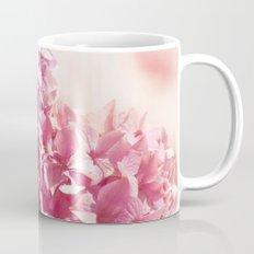 Dreamy pink hydrangea - Flower - Floral Mug