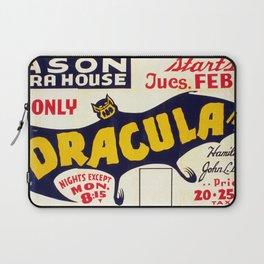 Dracula 1938 Laptop Sleeve