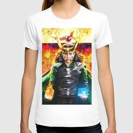 Loki - Ragnarok IV Eternal Flame T-shirt