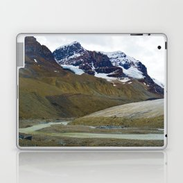Athabasca Glacier in the Columbia Icefields, Jasper National Park Laptop & iPad Skin