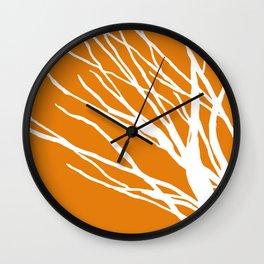 Pumpkin Blues Wall Clock