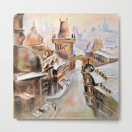 The old city Metal Print