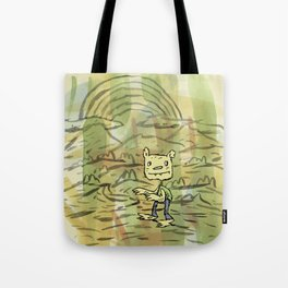 Walk On By Tote Bag