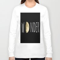 wonder Long Sleeve T-shirts featuring Wonder by ALLY COXON