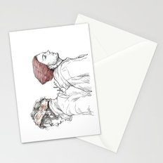Rose and Dagger Stationery Cards