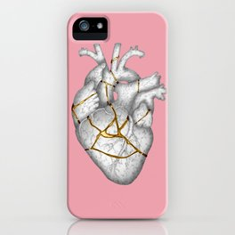 kintsukuroi Heart iPhone Case