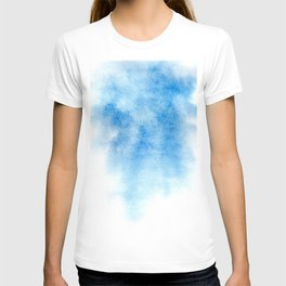 Blue watercolor background T-shirt