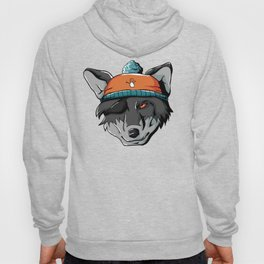 Winter Wolf Wild Dog Wolf Pack Mountains Cold Snow Hoody