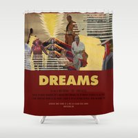 akira Shower Curtains featuring Dreams - Akira Kurosawa by Smart Store