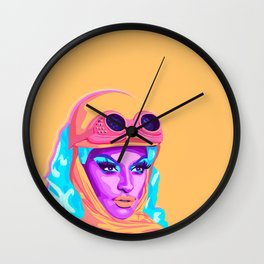 QUEEN MIZ CRACKER Wall Clock