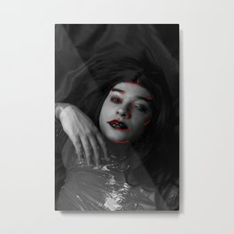 Hazel Metal Print