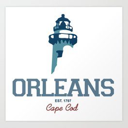 Orleans - Cape Cod. Art Print