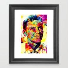 Sinatra Framed Art Print