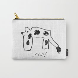 My Cow Drawing Carry-All Pouch