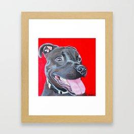 Darling Bear Framed Art Print