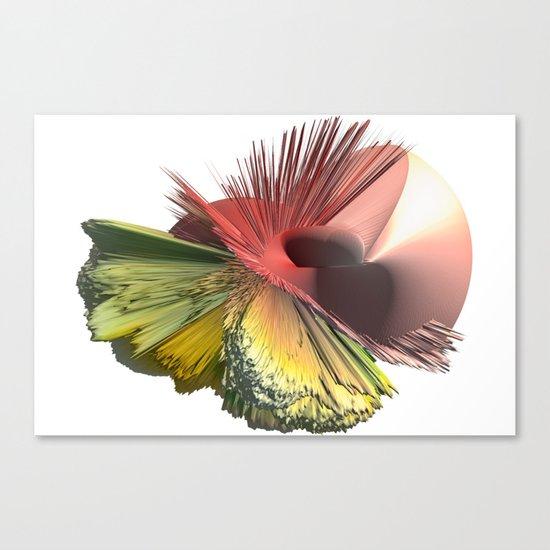 3d art - Revolution Canvas Print