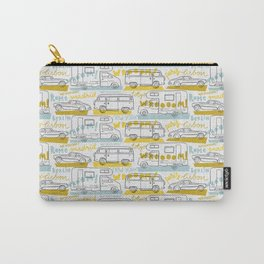 Wanderlust on the road Carry-All Pouch
