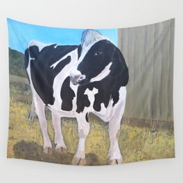Cow - Farm Sanctuary Wall Tapestry